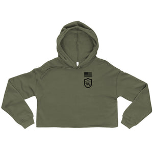 BEC Fitness Division Crop Hoodie