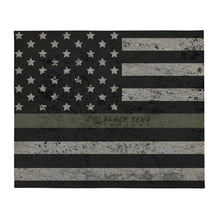 Load image into Gallery viewer, BEC Military Flag Throw Blanket