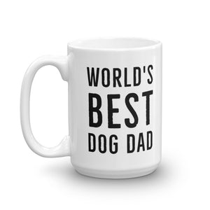 World's Best Dog Dad Mug