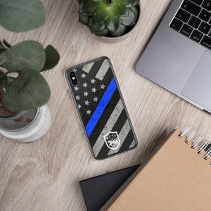 Thin Blue Line Flag - iPhones