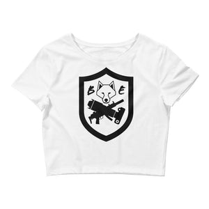 Women's BEC Badge Crop Top