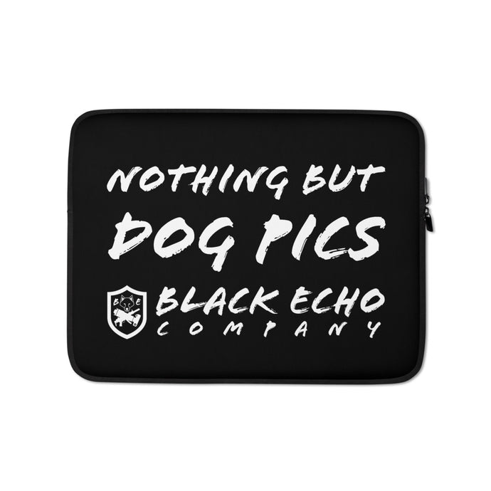Nothing but Dog Pics Laptop Sleeve