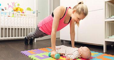 Ways to start exercising when you're a busy Mum (in Lockdown)
