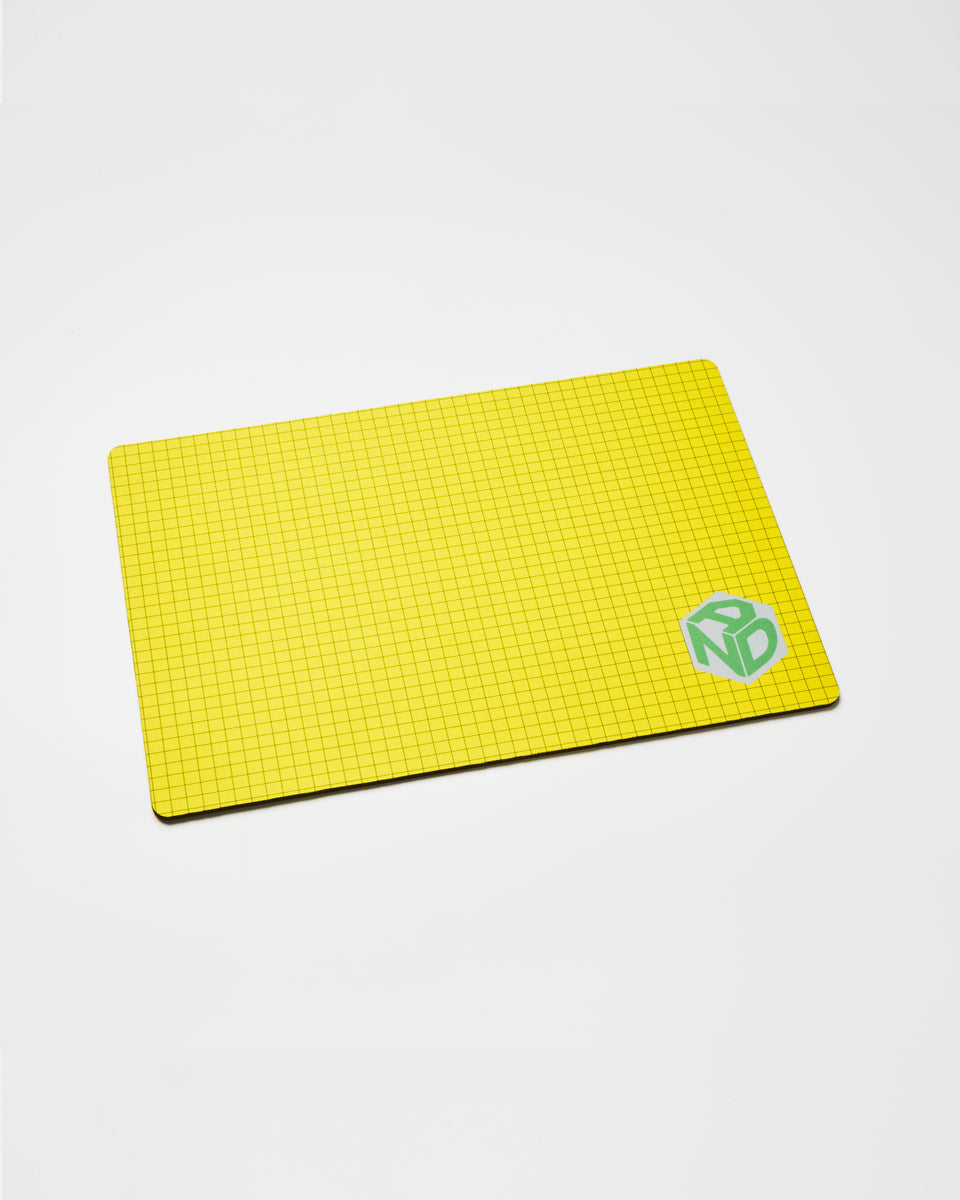 ANDBOX Large Gaming Mousepad - Yellow