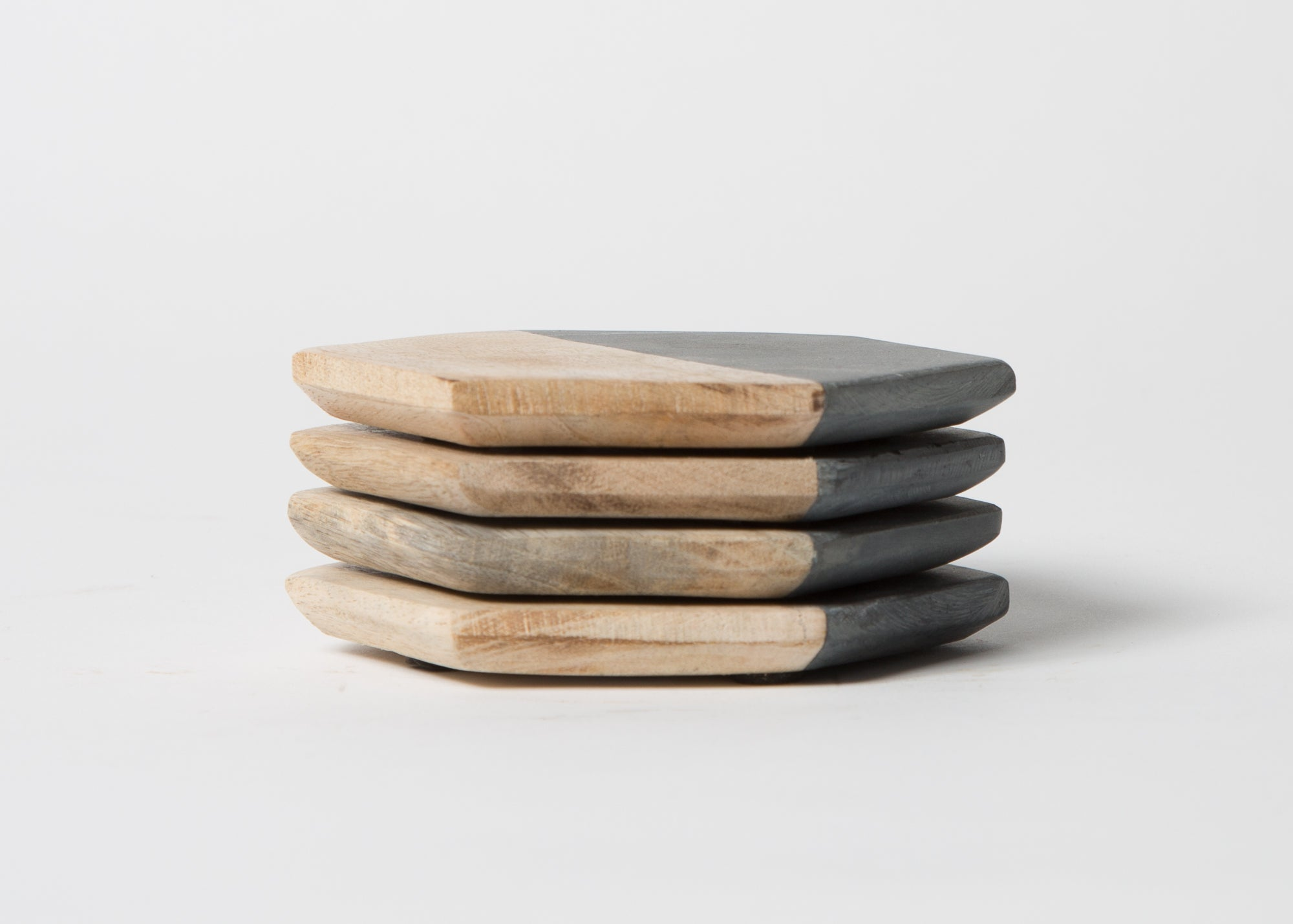 Elements Coasters Wood (set of 4)