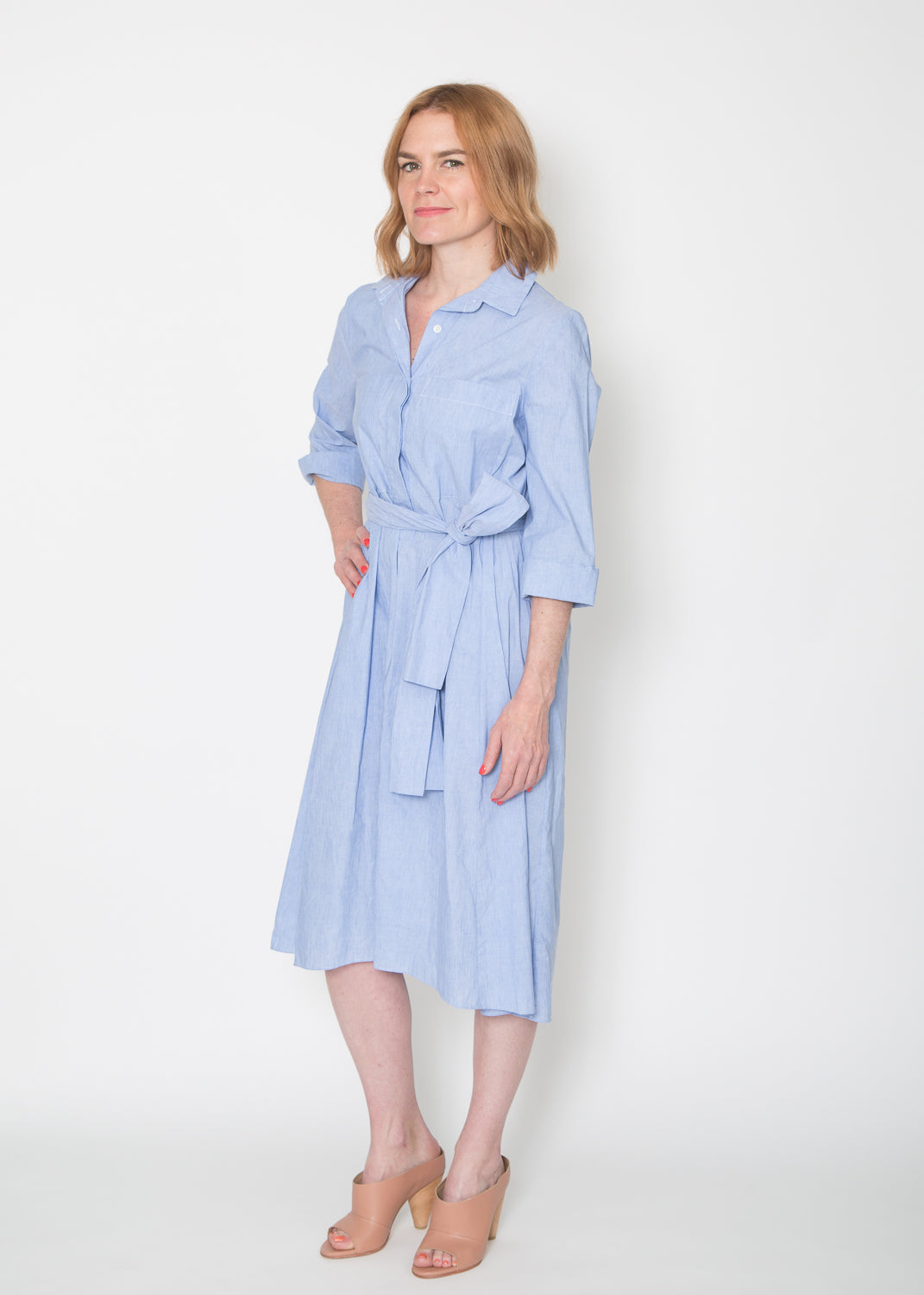 Odeeh Belted Shirtdress