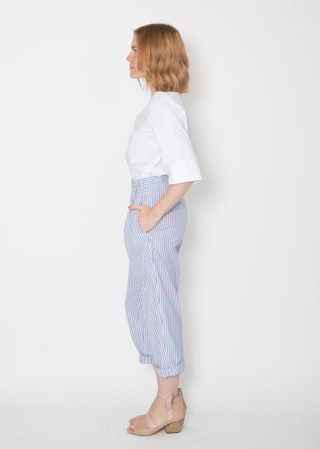 Odeeh Cotton Pinstripe Trouser