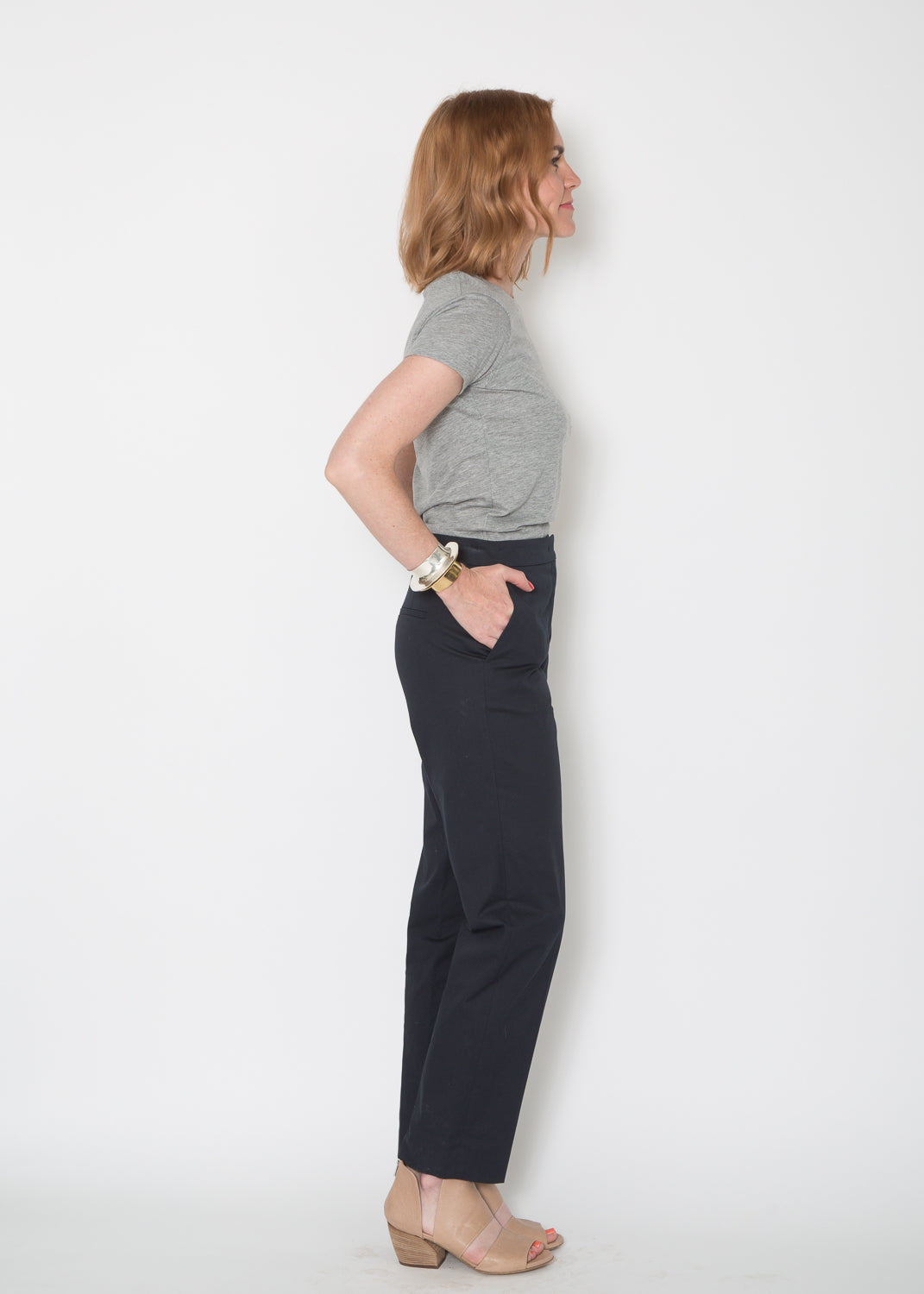 Odeeh Cotton Trouser Navy