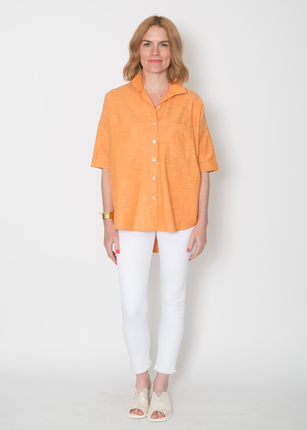 SBJ Austin Stephanie Top Tangerine