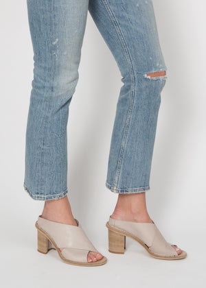 Officine Creative Cross Front Heeled Mule
