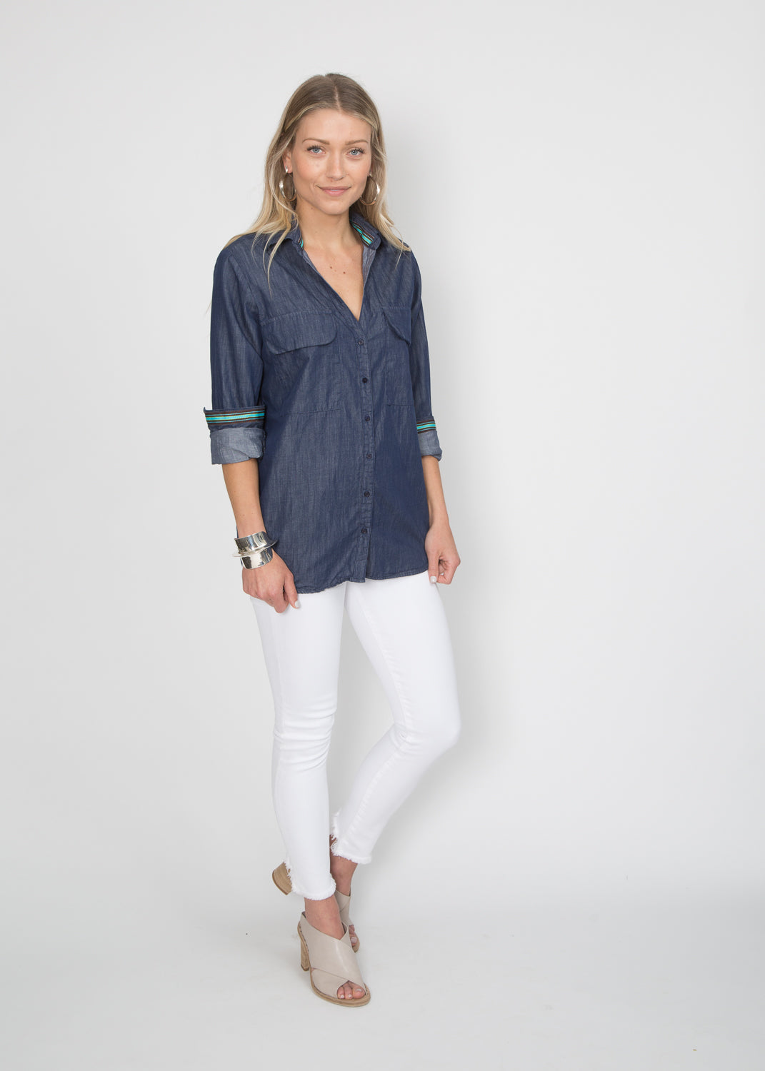 Good Company Easy Shirt Darkest Chambray
