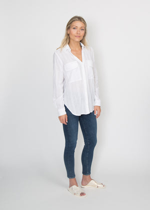Good Company Easy Shirt White Chain Link
