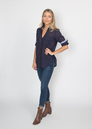 Good Company Easy Shirt Lightweight Navy
