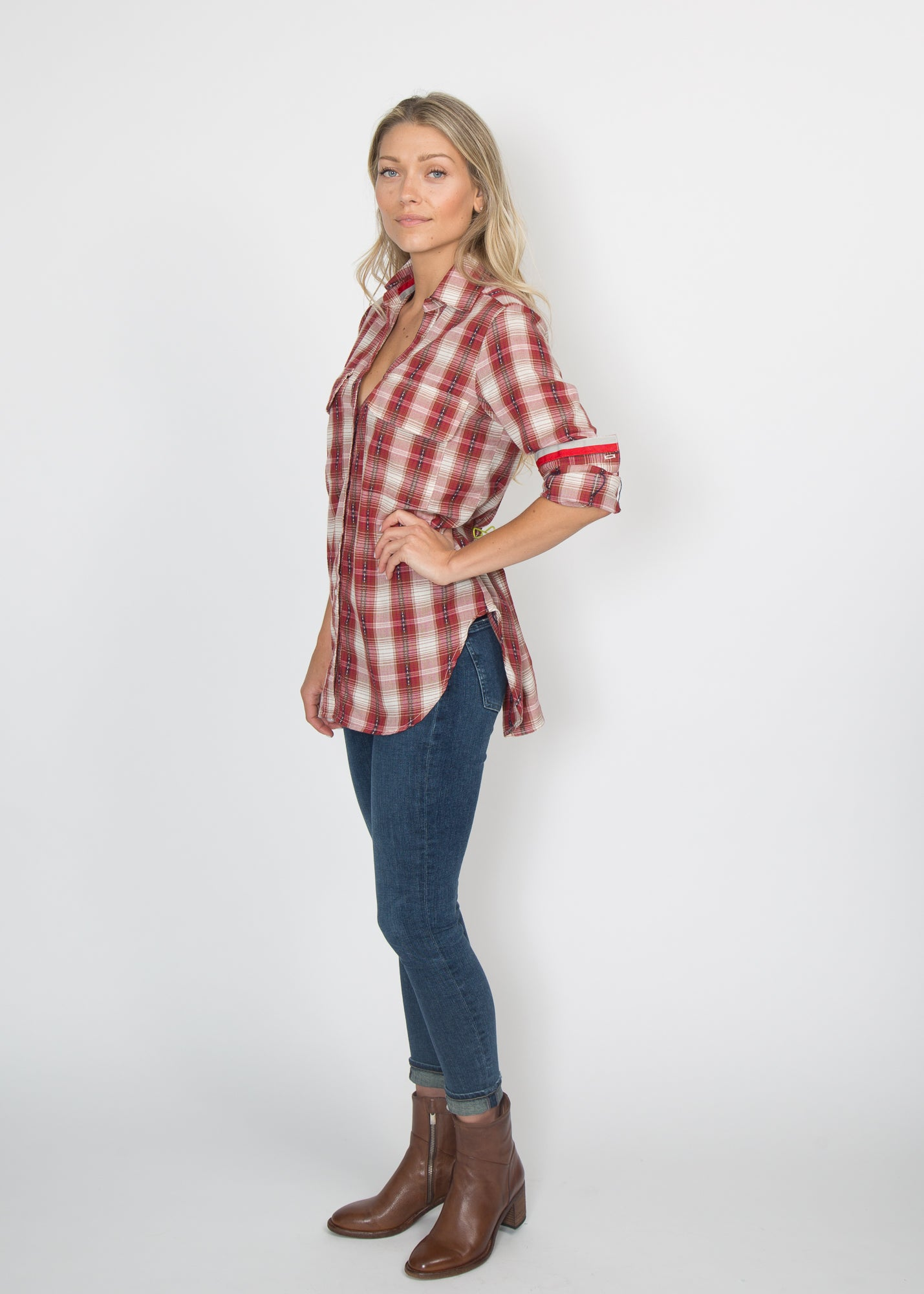 Good Company Easy Shirt Red Flannel