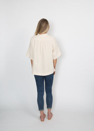 Good Company Popover Shirt Natural