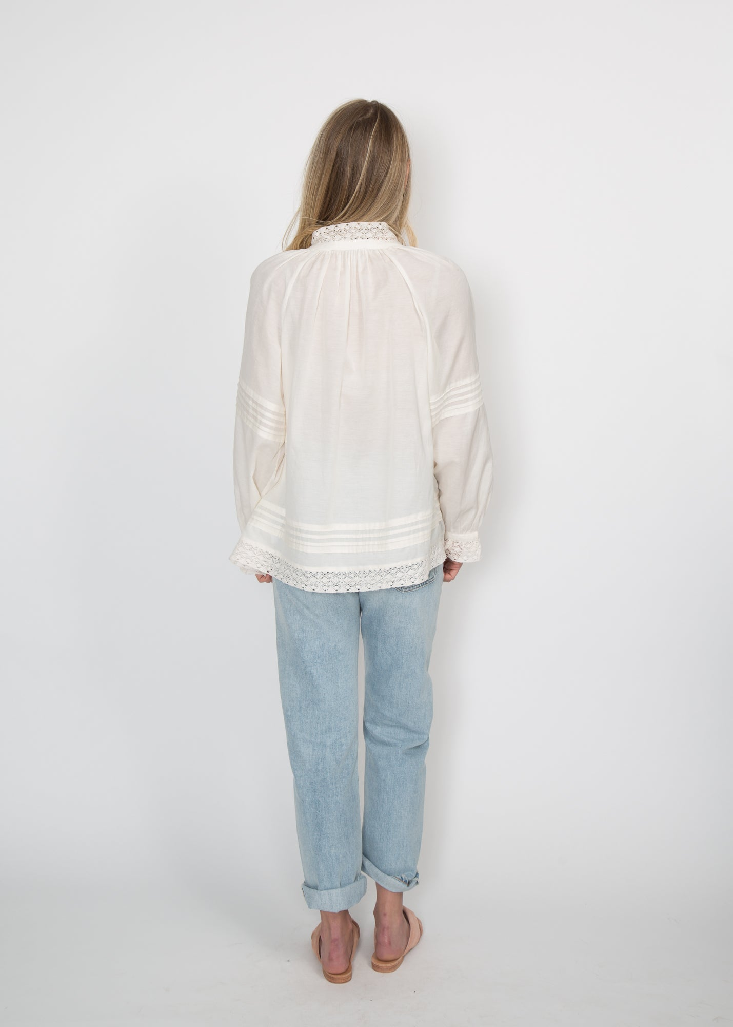 SEA NY Viola Long Sleeve Blouse