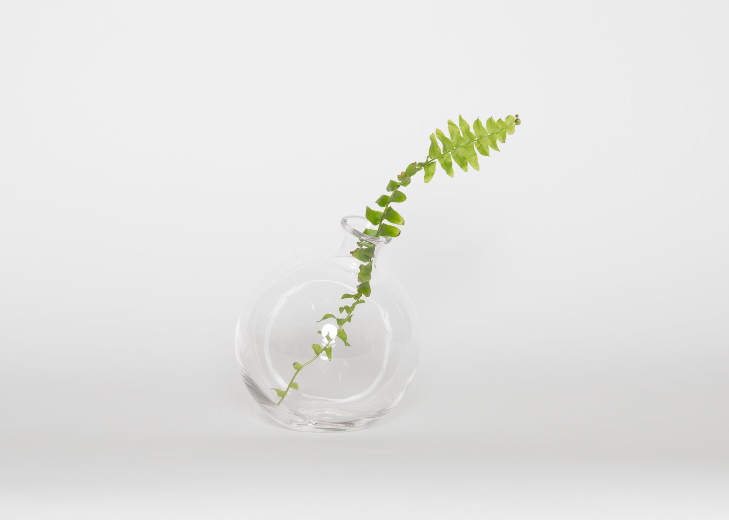 Clear Sphere Vase