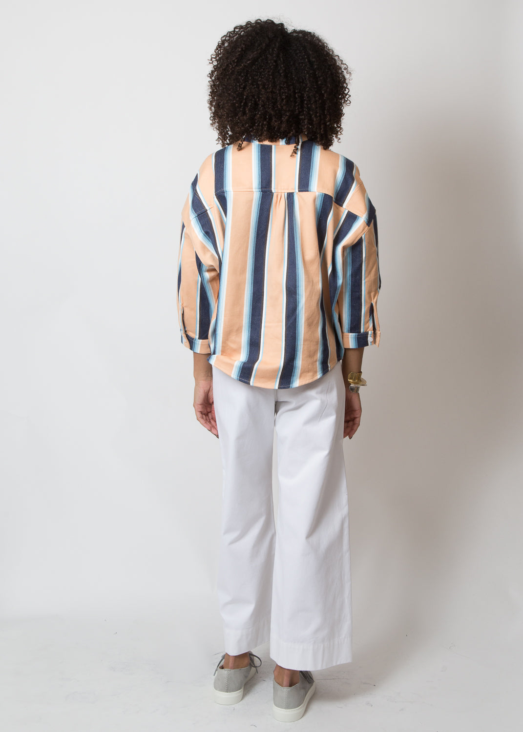 SBJ Austin Isabel Top Serape Stripe