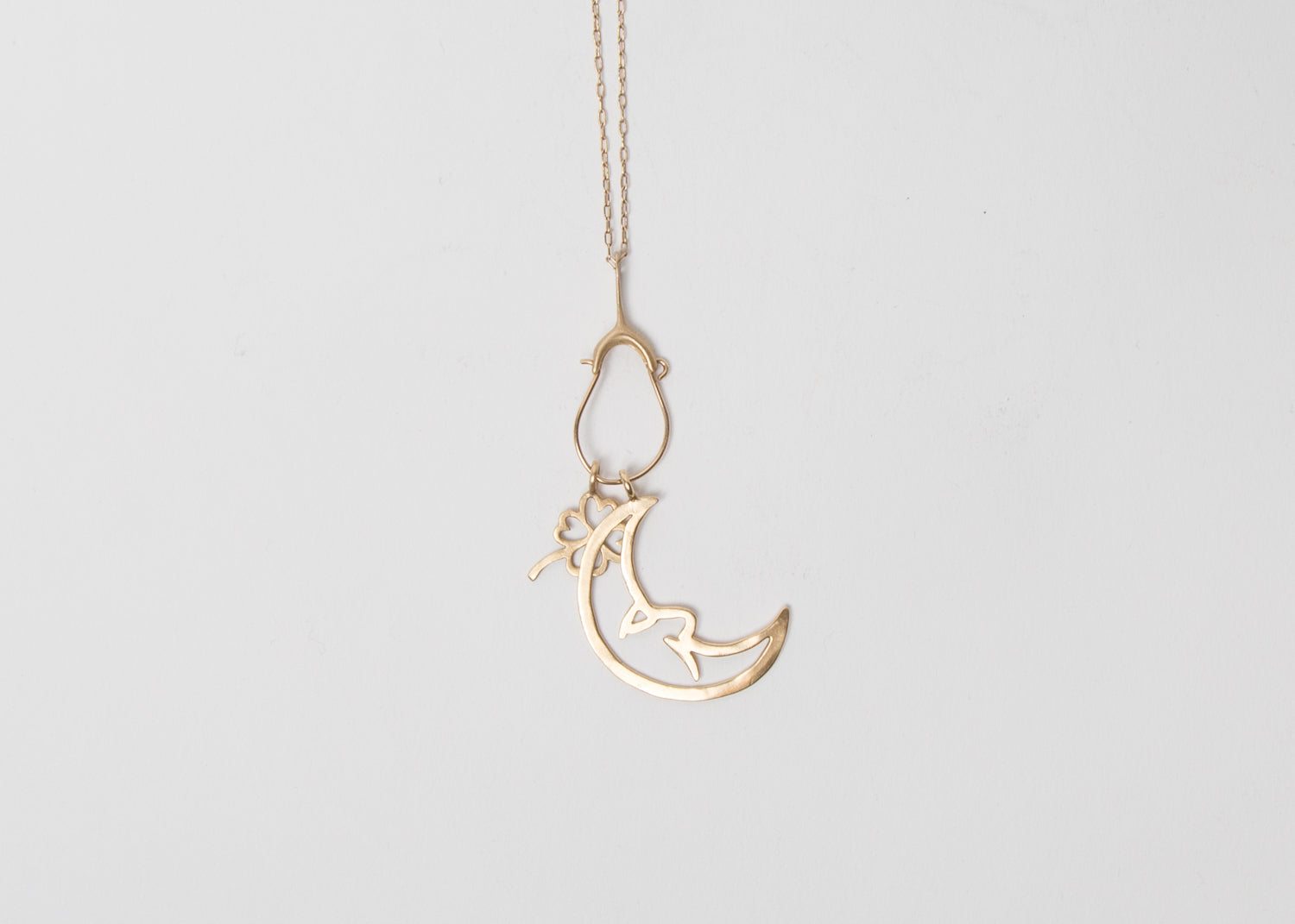 TENTHOUSANDTHINGS Moon Charm