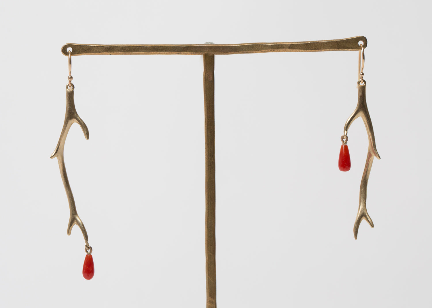 Annette Ferdinandsen Short Thorn Branch Earrings