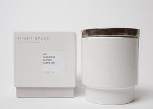Night Space Candle Bronze