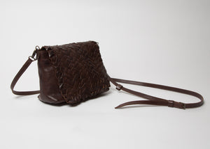 Rita Merlini Susan Handbag Dark Brown