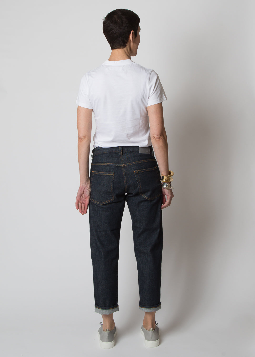 6397 Shorty Selvedge Rinse