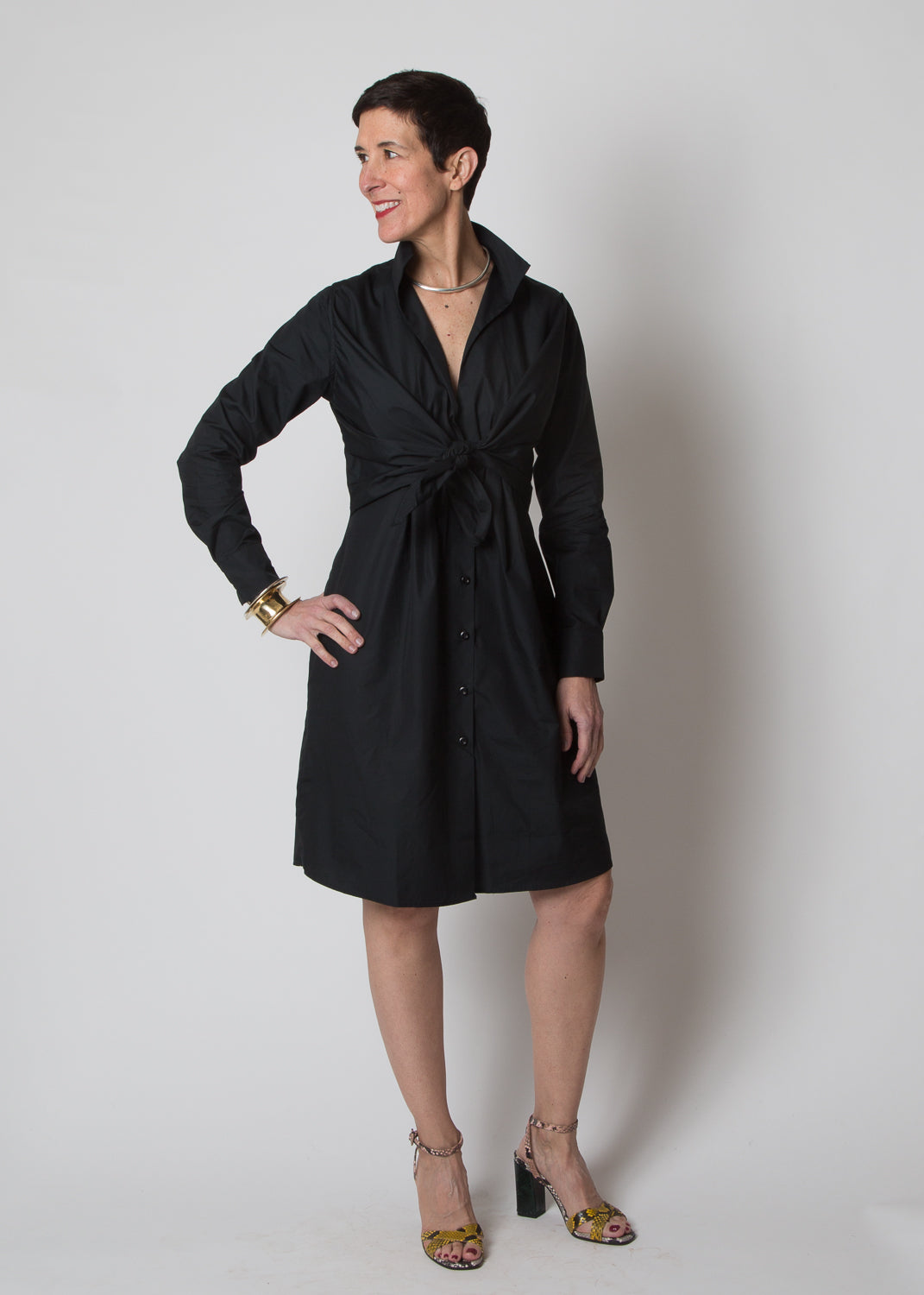 SBJ Austin Lauri Dress Black