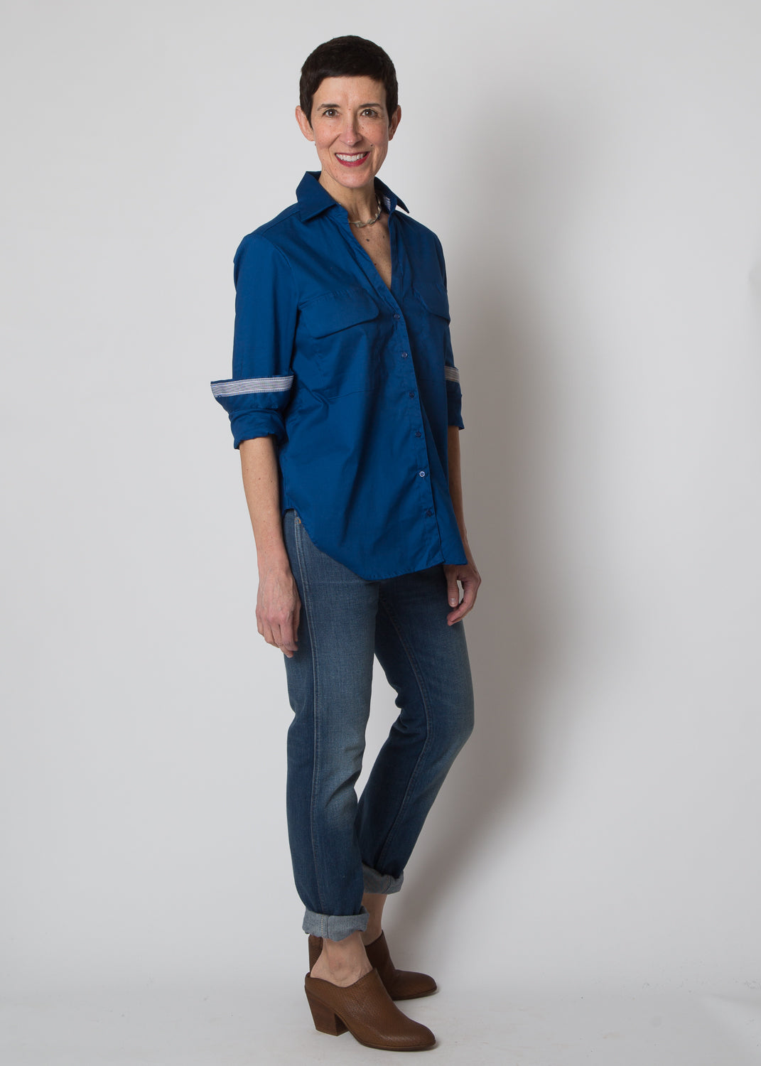 Good Company Easy Shirt True Blue