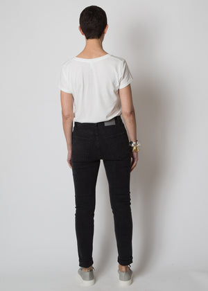 6397 High Jean Faded Black