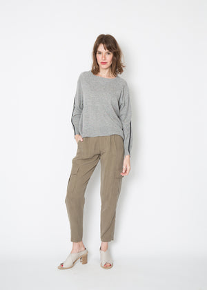Brochu Walker Lucia Piped Sweatshirt