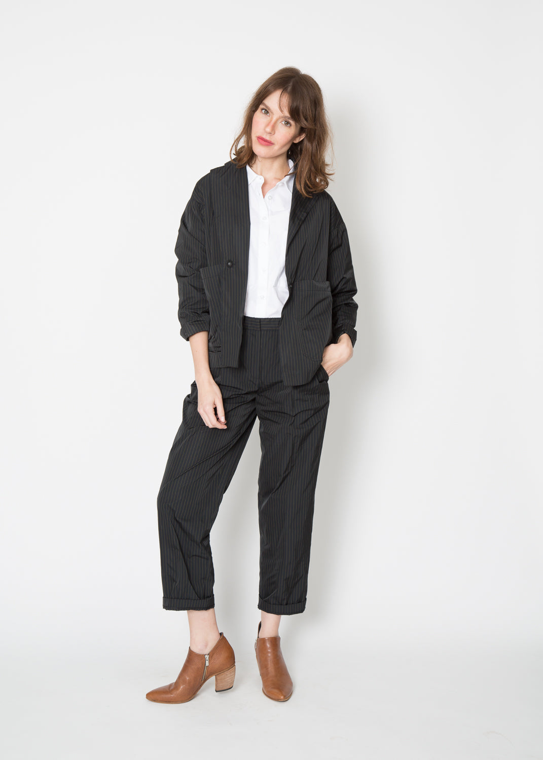 Odeeh Square Pocket Boxy Blazer