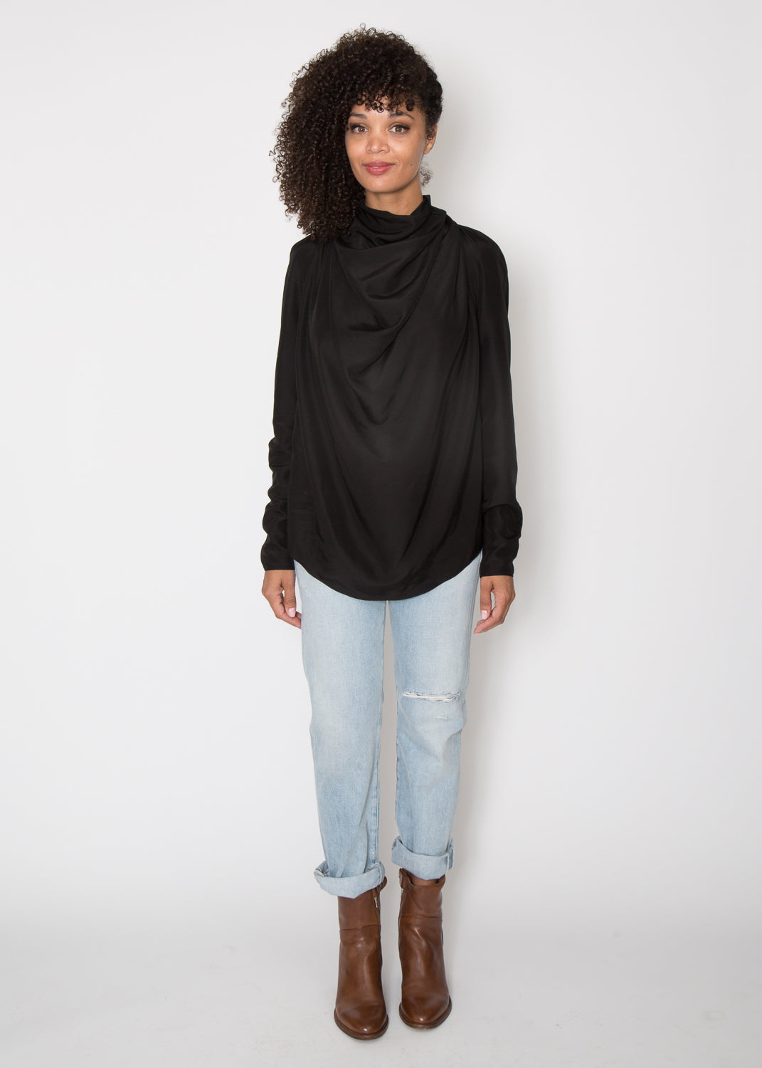 Support Surface Drapey Tie Top