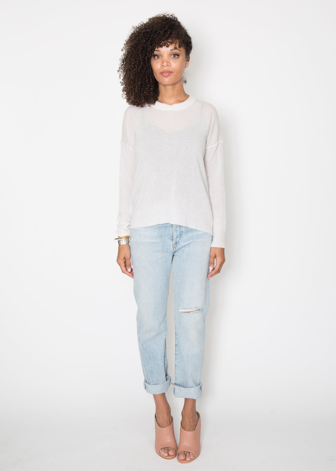 Brochu Walker Brighter Cashmere Crew
