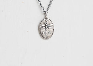 Erica Molinari Base Charm Dragonfly + Greek Orthodox Cross