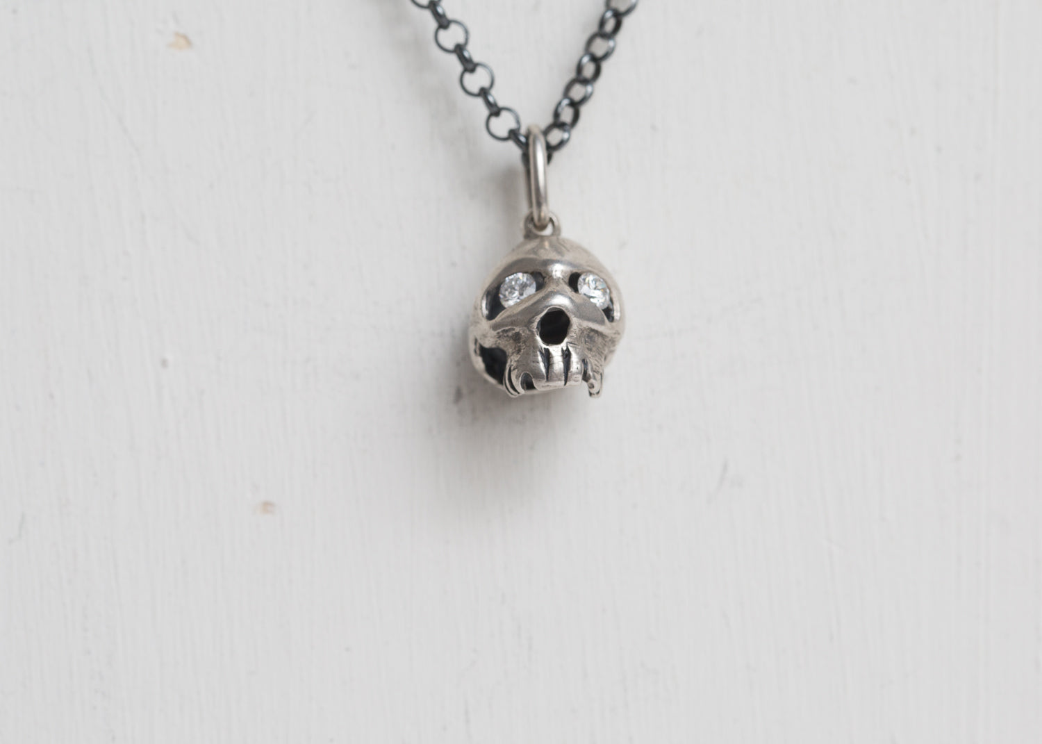 Erica Molinari Base Charm Large Hollow Skull