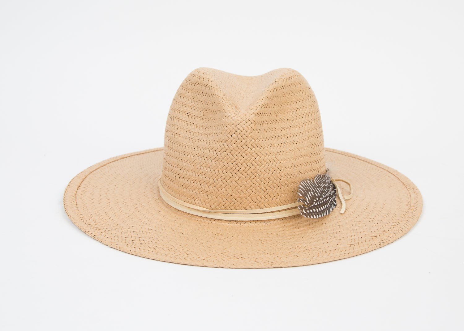 Lovely Bird San Sebastian Straw Fedora