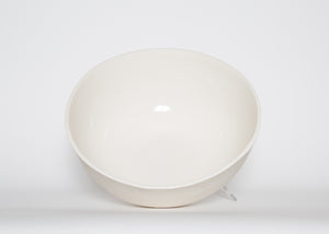 Barter White Porcelain Jumbo Sharing Bowl