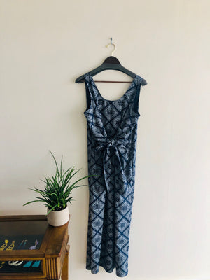 Harvey Faircloth Long Tie Front Dress