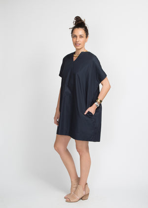 SBJ Austin Mary Dress Navy