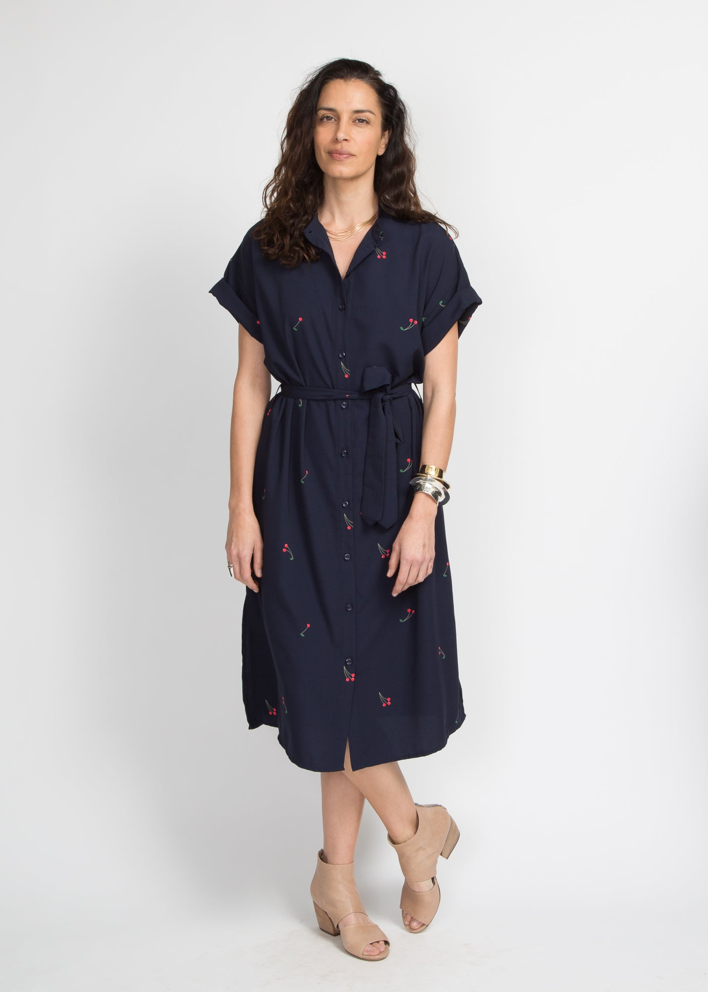 Story Button Down Dress