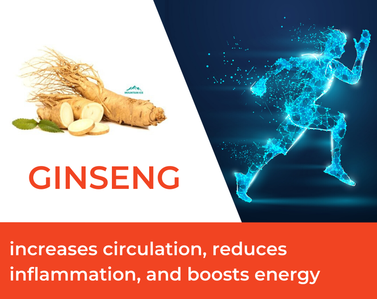 How Ginseng is Used in Mountain Ice Sports Recovery Gel
