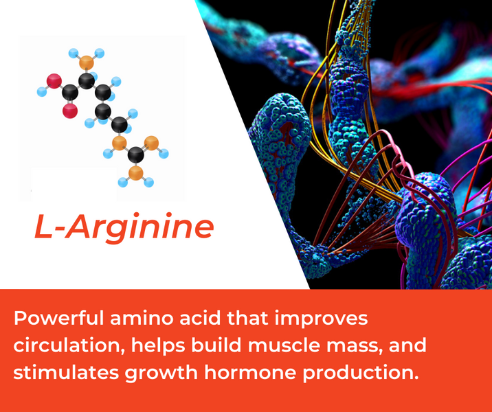 How L-Arginine is Used in Mountain Ice Muscle Therapy Gel