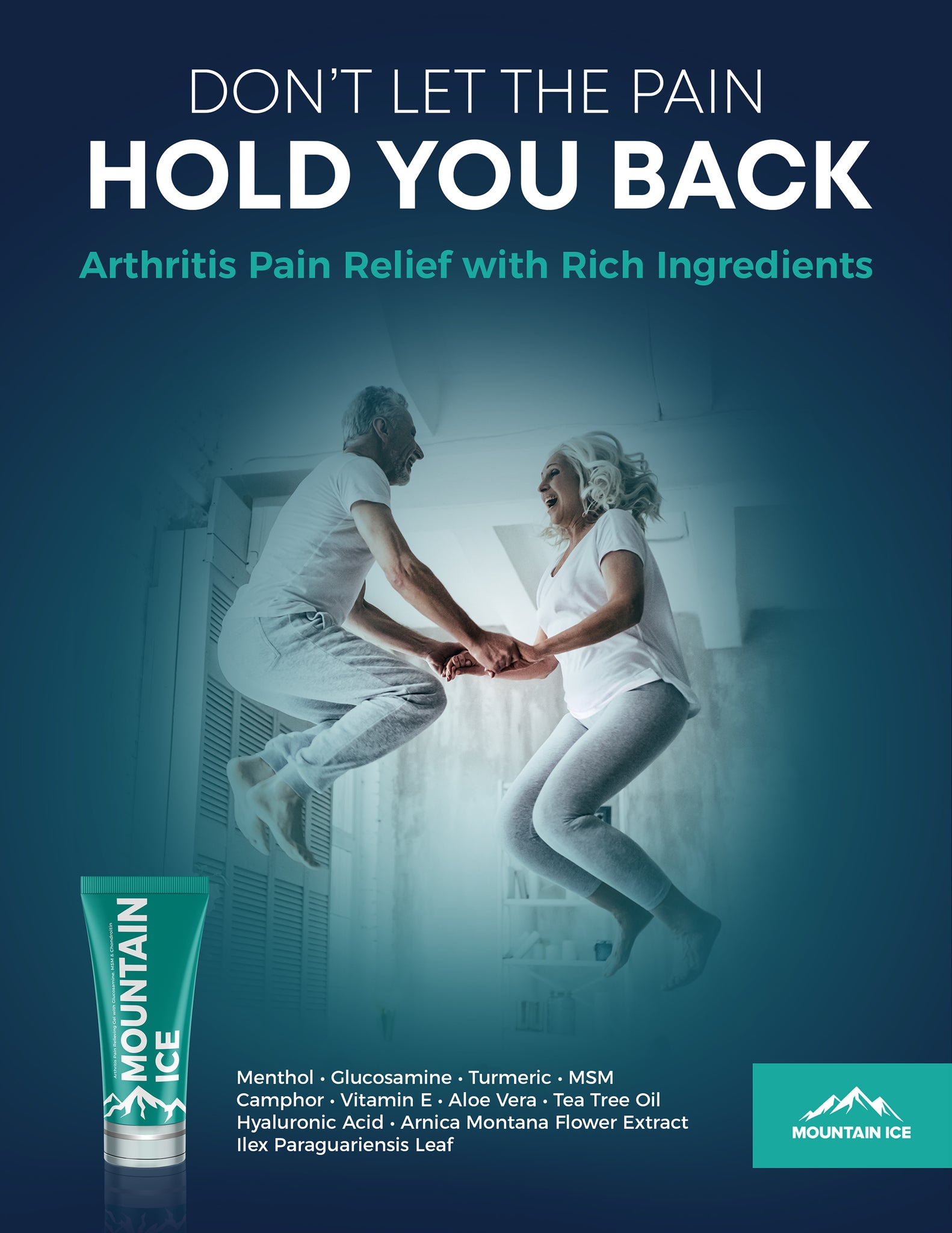 Arthritis: Don't Let the Pain Hold You Back - Poster