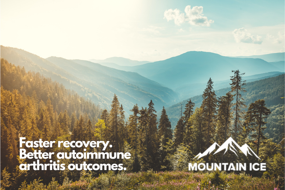 Better Autoimmune Arthritis Outcomes with Mountain Ice