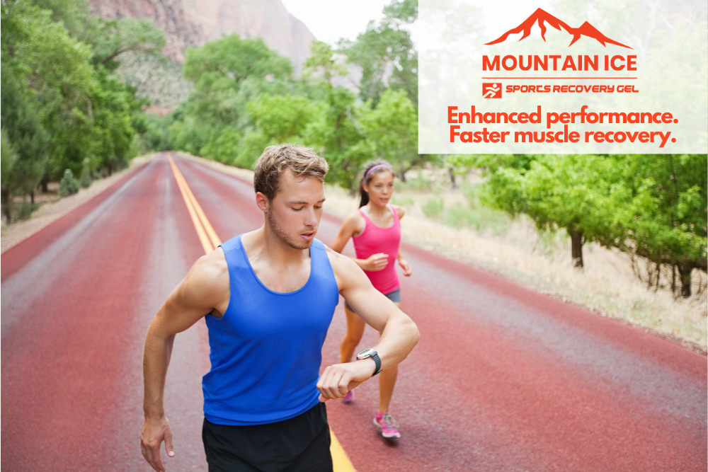Move More Month with Mountain Ice Sports Recovery Gel