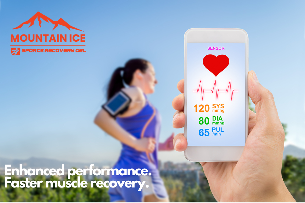 Enhanced Performance with Mountain Ice Sports Recovery Gel