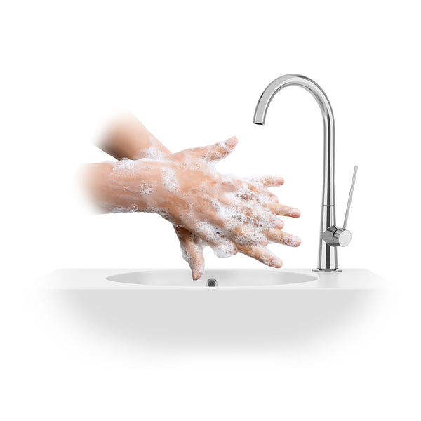 How to Apply Mountain ice Arthritis Pain Relief Gel- Step 5 Wash hands after discarding gloves with soap and water