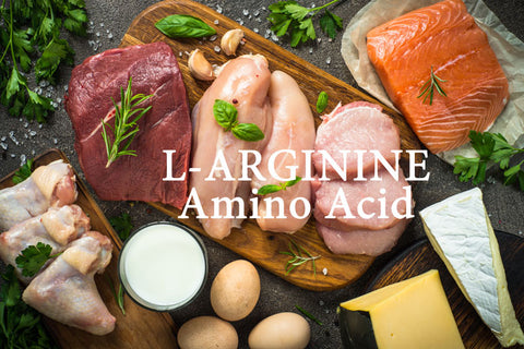 L-arginine (important amino acid) protein-building abilities help produce strong muscle volume and repair connective tissues quicker.