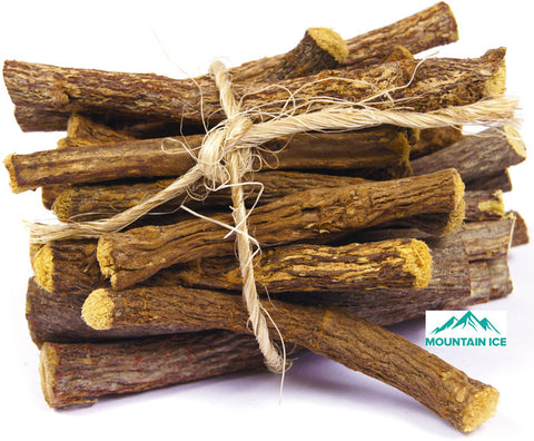 Licorice Root Stick Extract found in Mountain Ice Pain Gel